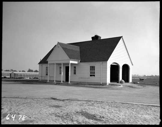 Power and heating plant, Carlos Avery Game Farm, 1938.