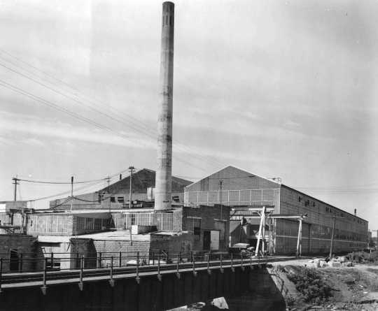 Black and white photograph of Cold Spring Granite Company Plant, c.1940.
