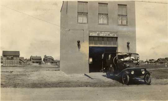 Fire Department, No. 3 Station, Pantown, St. Cloud, c.1919