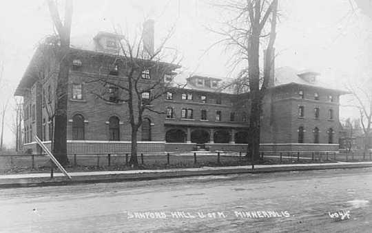 Sanford Hall, University of Minnesota.