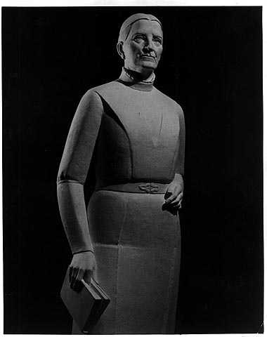 Statue of Maria Sanford by Evelyn Raymond, to be placed in the U.S. Captiol, Washington D.C.