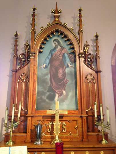 Scheie Lutheran Church altar painting