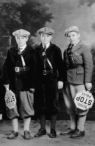 Three members of the St. Paul School Police force.