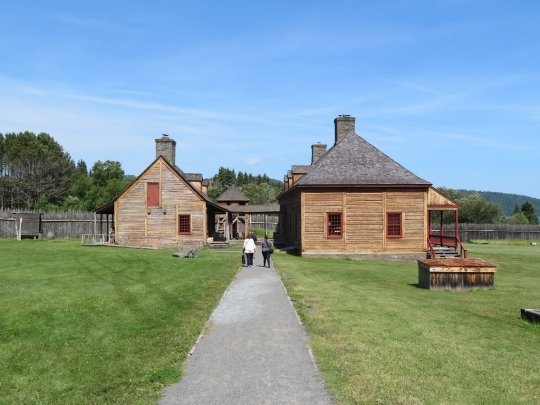 The Great Hall and kitchen at Grand Portage National Monument