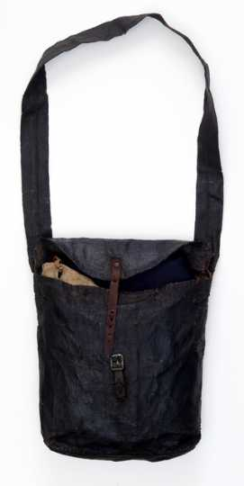 Soldier's painted canvas haversack