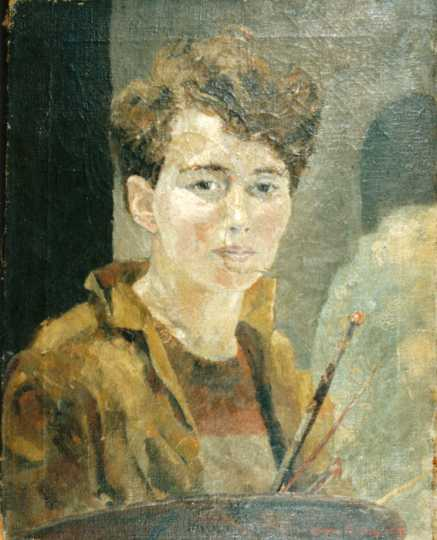 "Gene Ritchie's ""Self Portrait."""