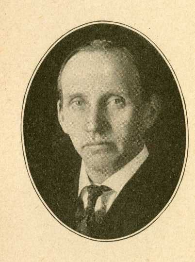 """Senator Ole O. Sageng, """"The Napoleon of Woman Suffrage."""" From the Forty-First Minnesota Legislative Session Manual."""