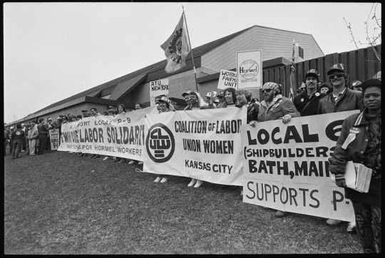 Nation's labor movement takes center stage in Austin
