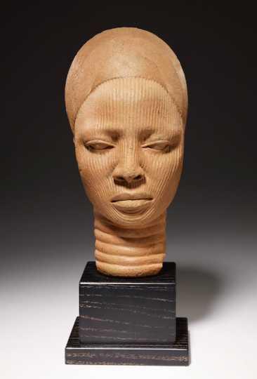 Yoruba head