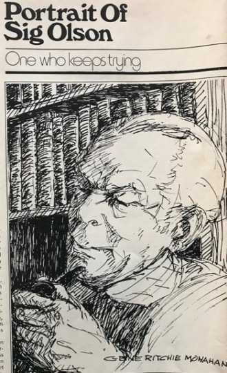 Sketch of Sigurd Olson