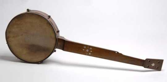 Five-string banjo (stringless)