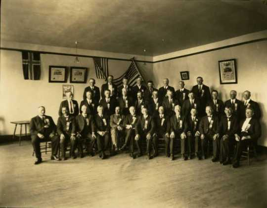 Sons of Norway lodge in Windom, 1925