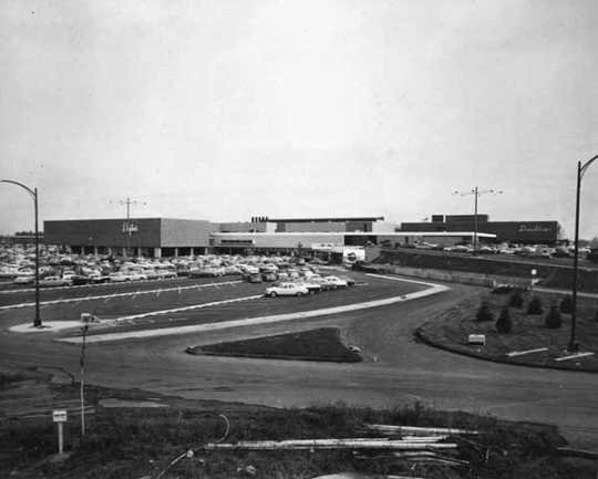 Southdale Center, Seventieth and France, Edina.
