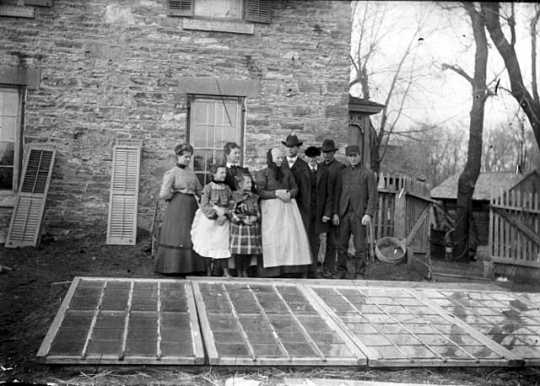 Frederick Spangenberg Sr. and family
