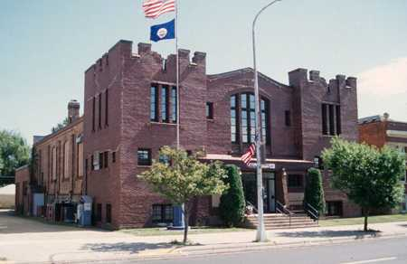 Color image of the St. Peter Armory, c.1997.