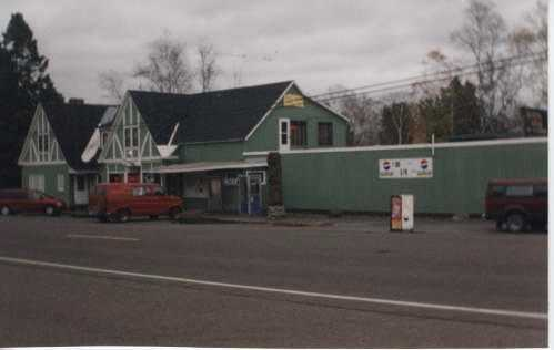 Color image of Stickney Inn and Store, ca. 1976 when the Jordans operated it as the Cross River General Store.