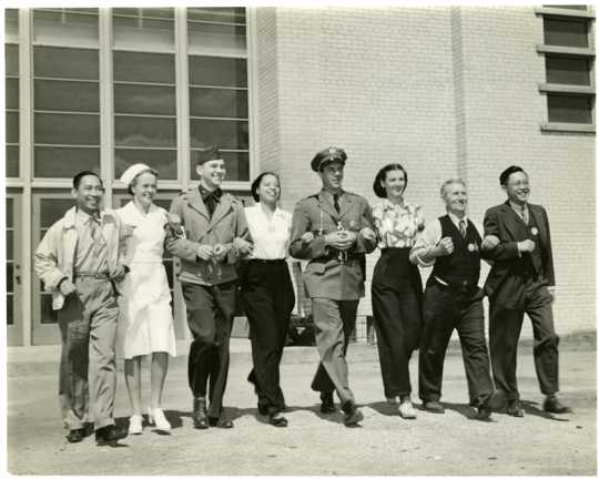 Employees of the Twin Cities Army Ammunition Plant (TCAAP)