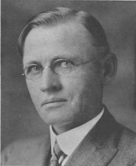 Black and white photograph of Northwest Experiment Station's first superintendent, Torger A. Hoverstad.