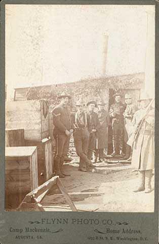 15th Minnesota Volunteers at Camp McKenzie.