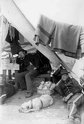 Minnesota men at Camp Meade?