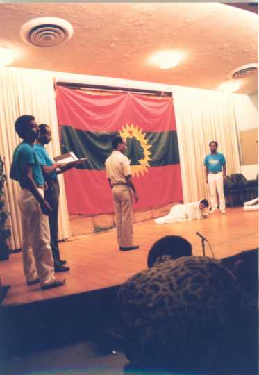 Performance by the Union of Oromo Students in North America (UOSNA)