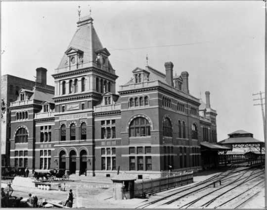 The old Union Depot, St. Paul.