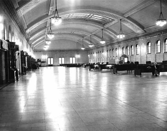 Main concourse, Union Depot, 214 East Fourth, St. Paul.