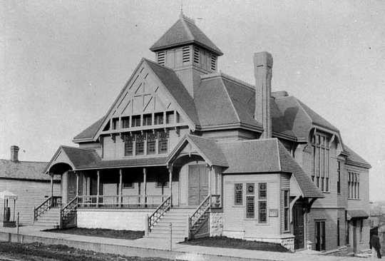 Unity Church, Wabasha and Summit, St. Paul, ca. 1890.
