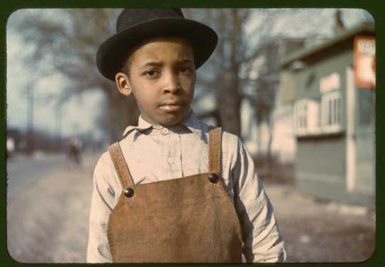 Negro boy near Cincinnati, Ohio