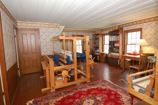 Thorstein Veblen home interior (furnished), Nerstrand, Minnesota, ca. 2011.