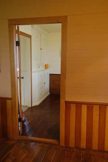 Thorstein Veblen home interior, ca. 2010. Nerstrand, Minn.
