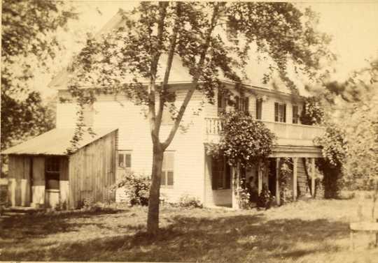 Veblen home, Nerstrand, Minnesota, ca. 1890.