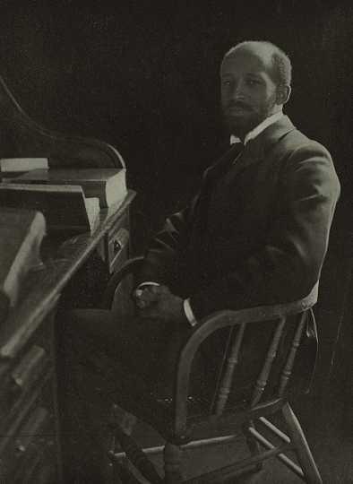 Black and white photograph of W.E.B. Du Bois, undated.