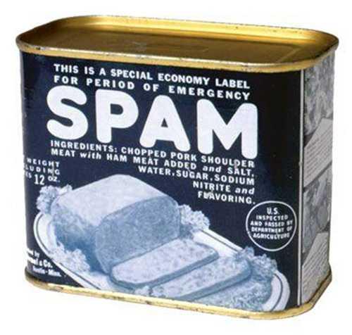 World War II-era can of SPAM