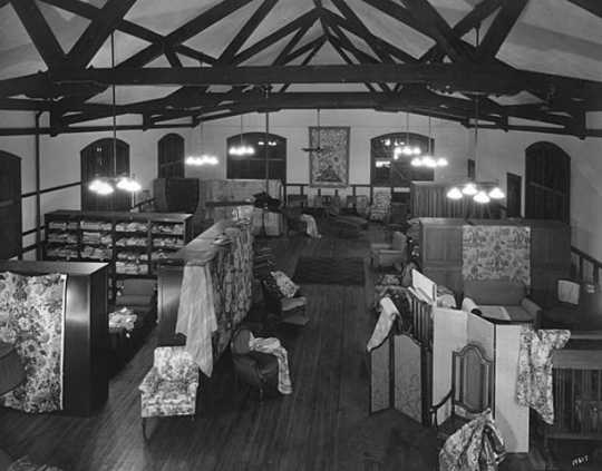 Weber Werness Studios in the Handicraft Guild Building, Tenth Street