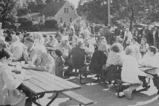 Westbrook Health Center appreciation picnic