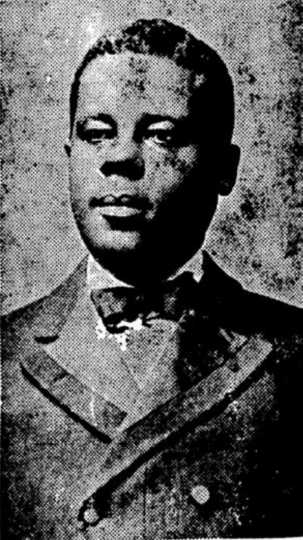 Black and white photograph of J. Frank Wheaton, c.1913.