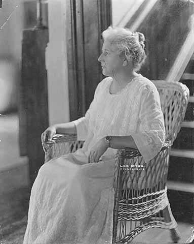 Photograph of Clara Ueland, ca. 1925