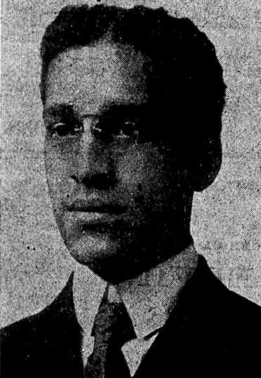 Newspaper portrait of Clarence Wigington from the St. Paul Appeal, September 18, 1915.