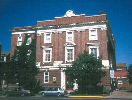 Color image of the Winona Masonic Temple, c.1998.