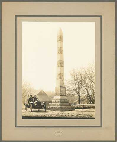 Woodlake Battlefield Monument