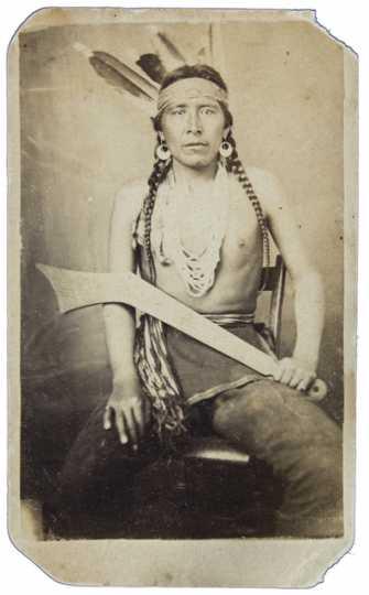 Big Eagle, leader in the U.S.- Dakota War.