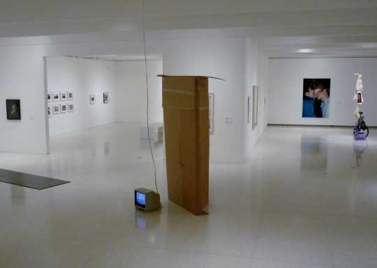 Exhibition gallery at Walker Art Center