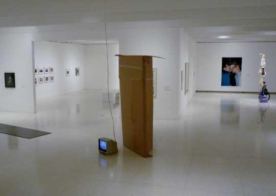 Exhibition gallery at Walker Art Center