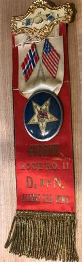 Gudrun Lodge No. 11 badge
