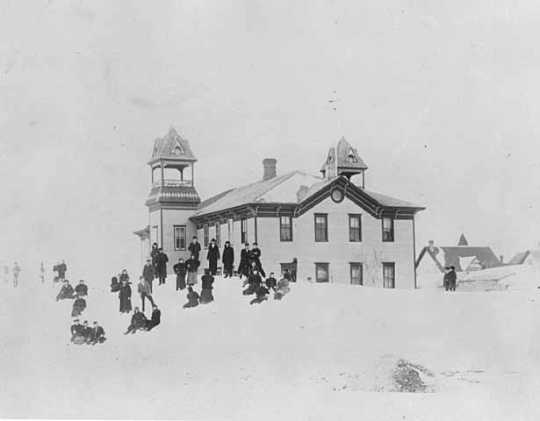 Children S Blizzard 1888 Mnopedia
