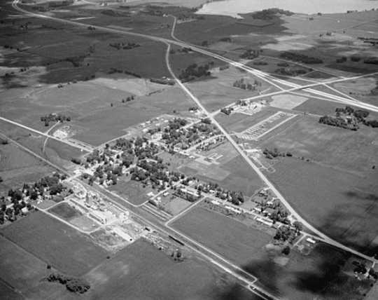 Aerial view, Clarks Grove