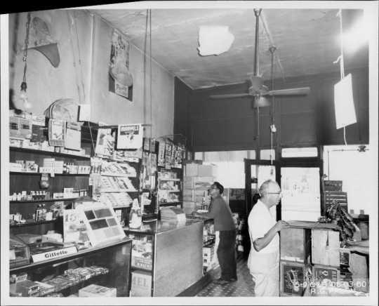 Interior of the Corner Grocery