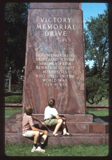 Victory Memorial Parkway monument