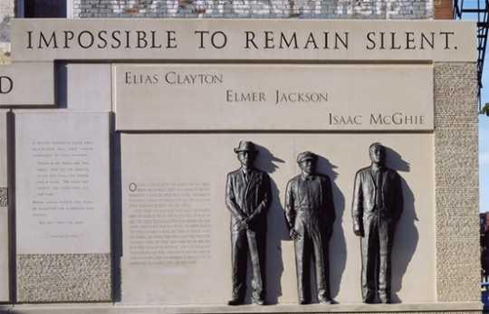 Duluth lynchings memorial